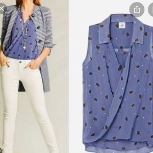 Cabi crossover blouse
